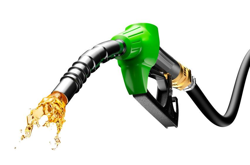 Splash of gasoline